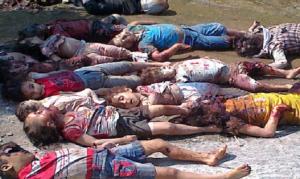 "Syrian Christians slain. ""I will repay"" declares God."