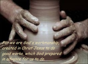 THERE IS SUFFERING ON THE WHEEL BUT GREAT REWARD IN THE POTTER'S HAND.