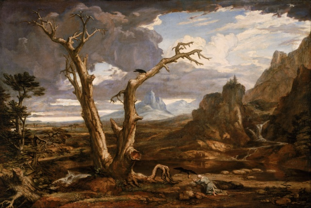 As with Elijah in the desert, the Lord awaits to minister