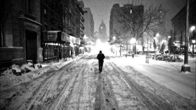 alone in city